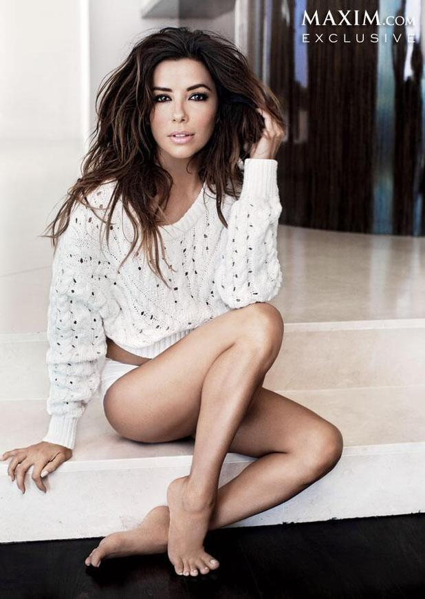 Eva Longoria featured as Maxim's Woman of the Year