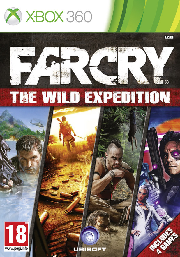 Far Cry: The Wild Expedition box art