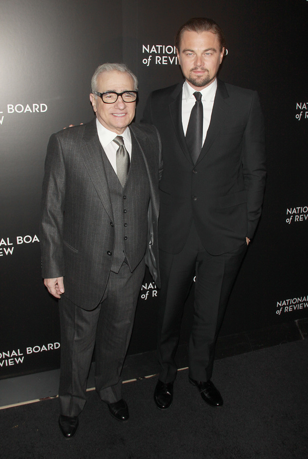 2014 National Board Of Review Awards Gala - Red Carpet ArrivalsPeople: Leonardo DiCaprio and Martin Scorsese