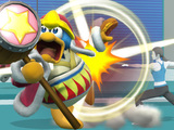 King Dedede joins the Super Smash Bros roster for Wii U, 3DS