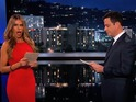 Things get tense between the Jimmy Kimmel Live host and Sofia Vergara.