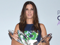 Sandra Bullock picked up four awards at the 40th People's Choice Awards.