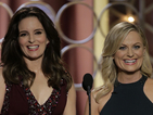 Amy Poehler on hosting Golden Globes with Tina Fey: '2015 is the end'