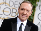 House of Cards actor shares touching story while accepting Golden Globe Award.