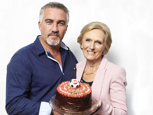 Paul Hollywood and Mary Berry together for The Great Sport Relief Bake-Off