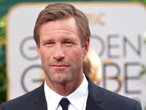 71st annual Golden Globe Awards: Aaron Eckhart