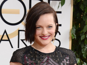 71st annual Golden Globe Awards: Elisabeth Moss
