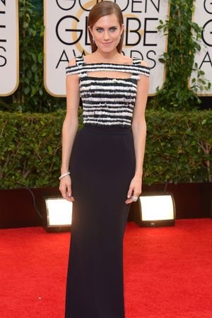 Allison Williams 71st Annual Golden Globe Awards, Arrivals, Los Angeles, America - 12 Jan 2014 Allison Williams 12 Jan 2014
