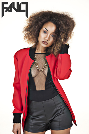 Little Mix's Leigh Anne Pinnock  'Fault' magazine.