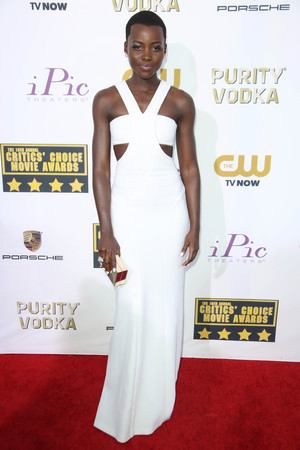 19th Annual Critics' Choice Movie Awards, Arrivals, Los Angeles, America - 16 Jan 2014 Lupita Nyong'o 16 Jan 2014