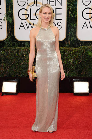 Naomi Watts 71st Annual Golden Globe Awards, Arrivals, Los Angeles, America - 12 Jan 2014