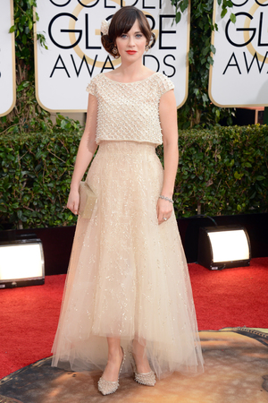 71st annual Golden Globe Awards: Zooey Deschanel