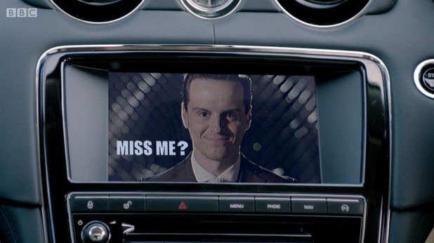 Moriarty's return in Sherlock 'His Last Vow'