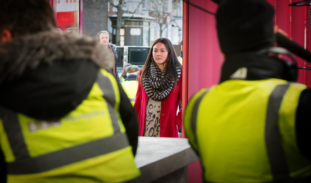 Lacey Turner back filming for EastEnders