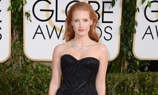 Showbiz-golden-globes-2014-jessica-chastain