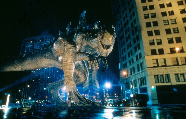 A still from Godzilla (1998)
