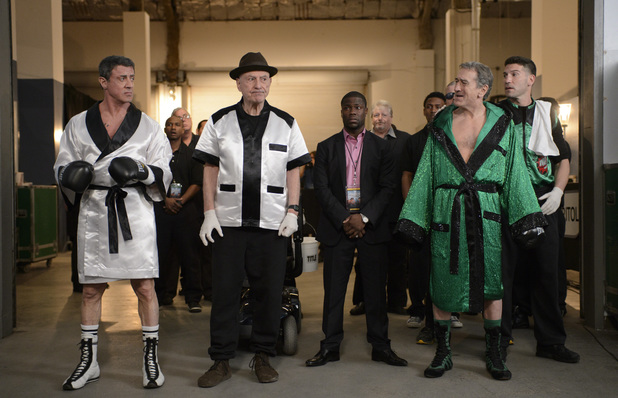 Robert De Niro, Sylvester Stallone in 'Grudge Match'