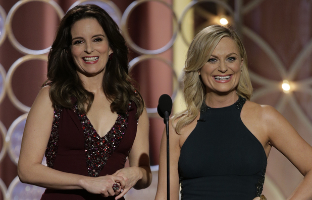 Tina Fey and Amy Poehler host 2014 Golden Globes
