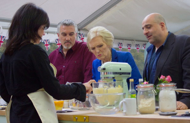 The judges with Emma Freud