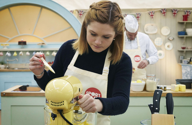 Bonnie Wright on the Great Sport Relief Bake-Off