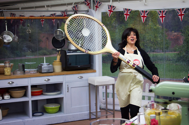 Emma Freud on Sport Relief Bake Off