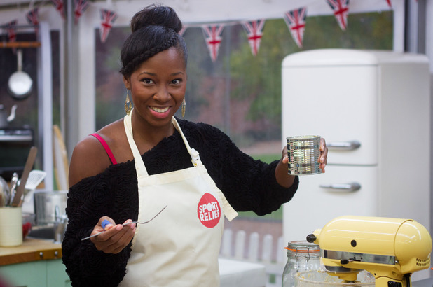 Jamelia on Sport Relief Bake Off