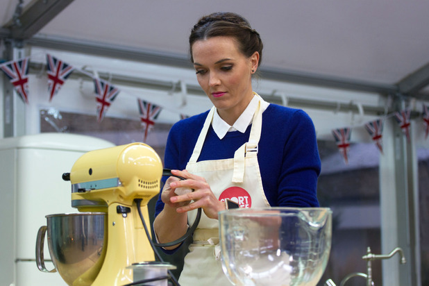 Victoria Pendleton on Sport Relief Bake Off