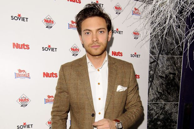 Matt Di Angelo at the Soviet Nuts Awards party, London