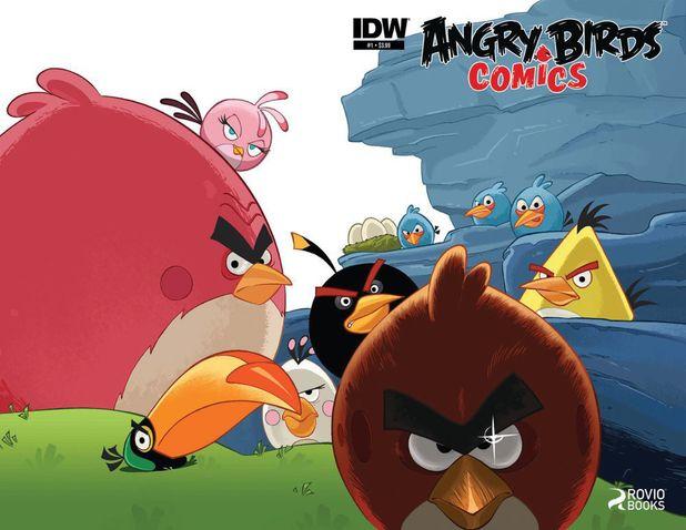 IDW's Angry Birds Comics