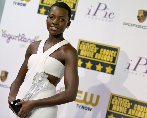 Lupita Nyong'o at the 19th annual Critics' Choice Movie Awards