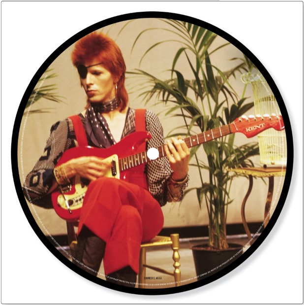 David Bowie 'Rebel Rebel' picture disc