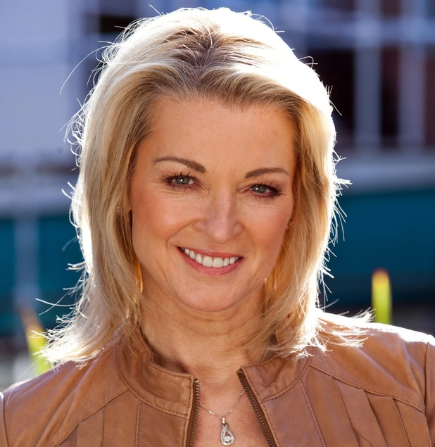 Gillian Taylforth as Sandy Roscoe in Hollyoaks