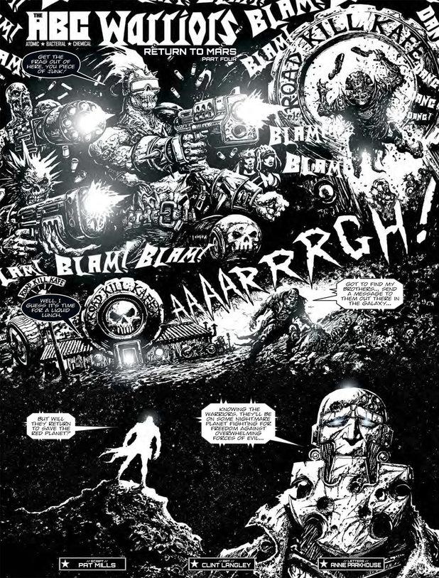 ABC Warriors 'Return to Mars'