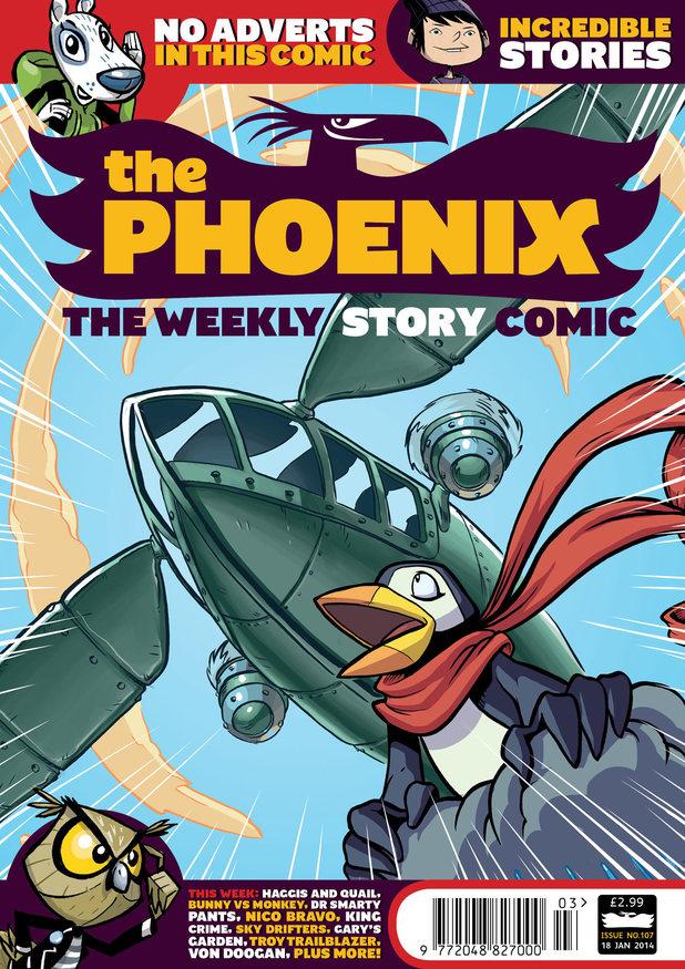 The Phoenix #107 cover