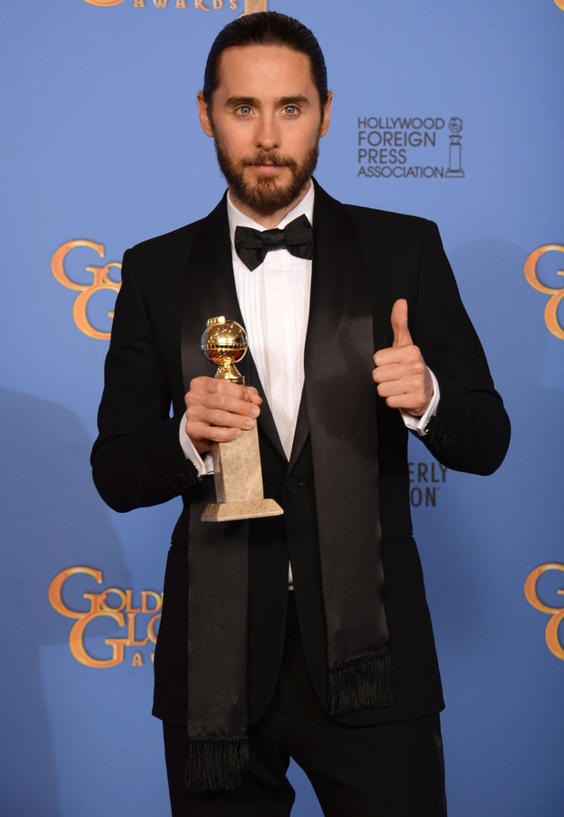 Golden Globes 2014: Jared Leto talks waxing during ...