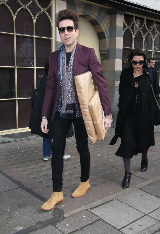 Nick Grimshaw and Sadie Frost