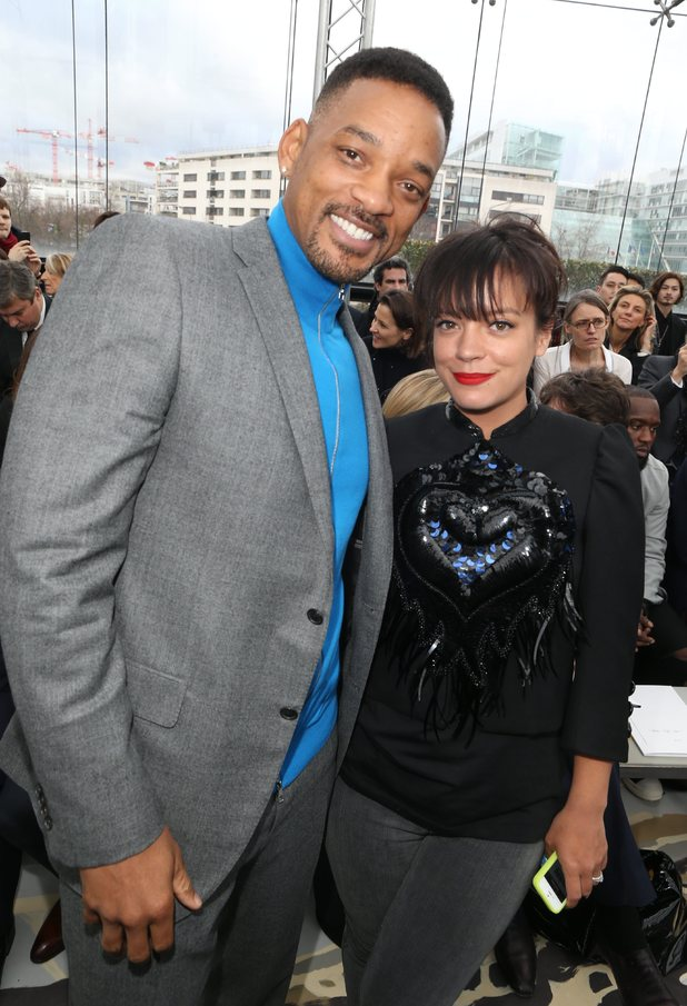 Will Smith and Lily Allen