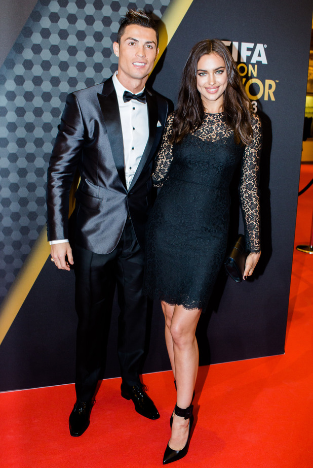 FIFA Ballon d'Or 2013 in Zurich, Switzerland - 13 Jan 2014Cristiano Ronaldo and Irina Shayk