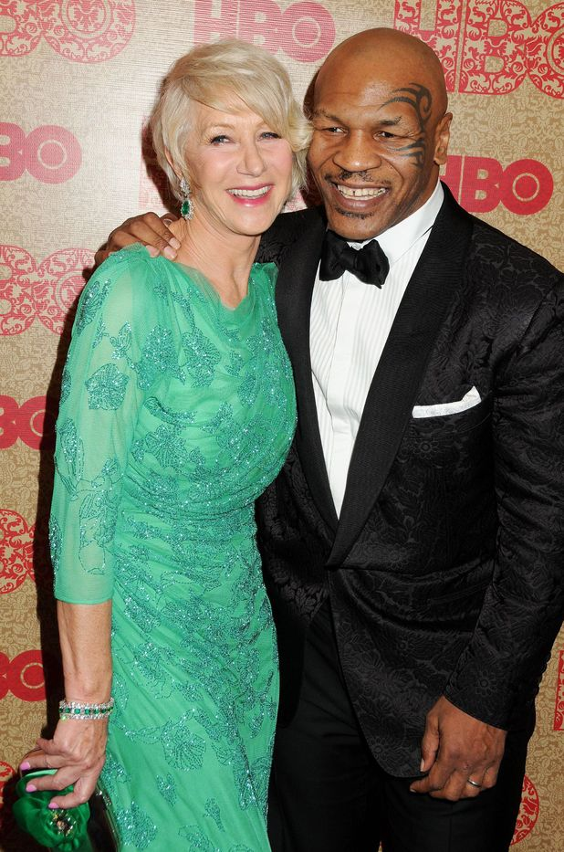 Helen Mirren and Mike Tyson