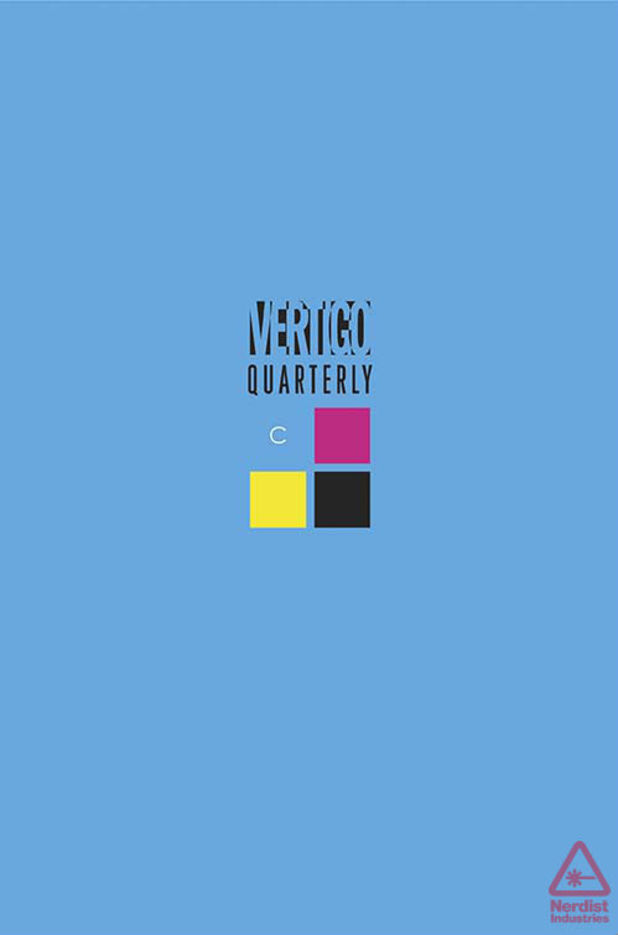 Vertigo Quarterly: CMYK 'Cyan'
