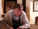 David Neilson speaks about his character's struggle to cope with Hayley's death.