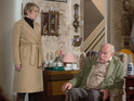 New pictures show the first scenes for Timothy West and Annette Badland.