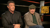 Hollywood icons Sylvester Stallone and Robert De Niro talk to Digital Spy about returning to the boxing ring for 'Grudge Match' and tell us a bit about their upcoming projects