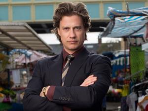 Kristian Kiehling as Aleks Shirov in EastEnders