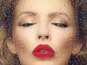 Kylie Minogue 'Kiss Me Once' artwork