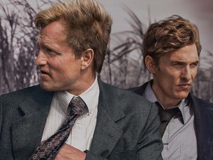 Woody Harrelson and Matthew McConaughey in True Detective