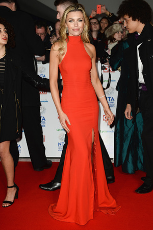 National Television Awards, The O2, London, Britain - 22 Jan 2014 Abbey Clancy
