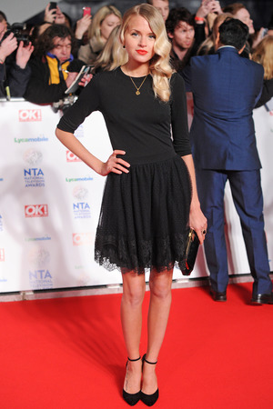National Television Awards, The O2, London, Britain - 22 Jan 2014 Hetti Bywater