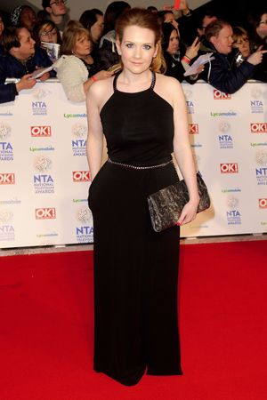 National Television Awards, The O2, London, Britain - 22 Jan 2014 Jennie McAlpine