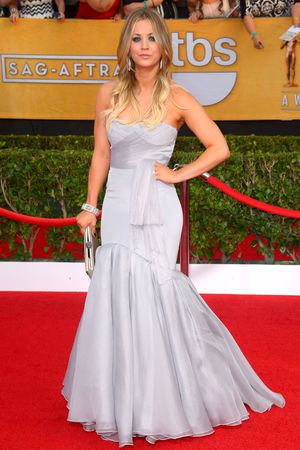 20th Annual Screen Actors Guild Awards, Arrivals, Los Angeles, America - 18 Jan 2014 Kaley Cuoco